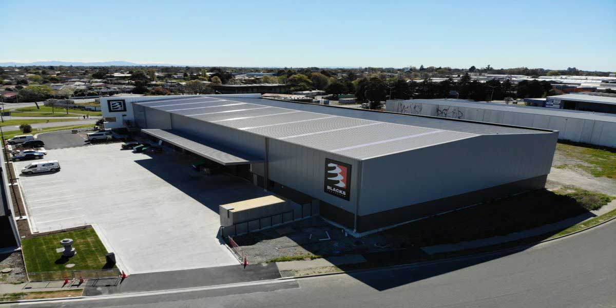 Proyecto black fasteners distribution centre christchurch nz
