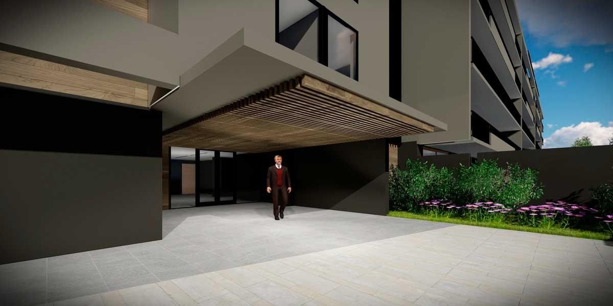 Proyecto edificio brown norte ñuñoa santiago chile