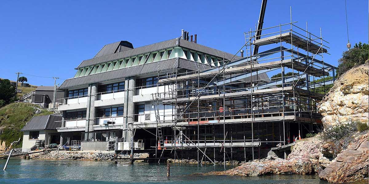 Proyecto portobello marine laboratory facilities otago nz
