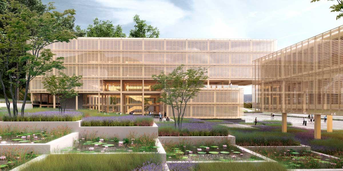 Proyecto campus corporativo arauco concepción chile