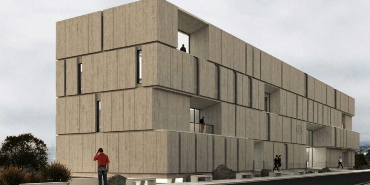 BuildBIM_Sede Contraloría Regional de Coquimbo Frontis